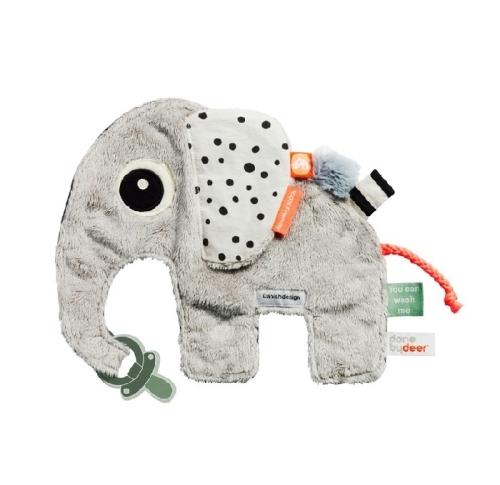 Słoń zabawka z metkami