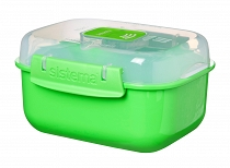 Lunch Box Sistema (525 ml) - zielony (też do mikrofalówki)