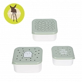 Lassig Snackbox Little Spookies - olive