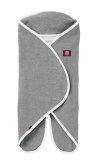 Rożek-otulacz Red Castle Babynomade Double Fleece - Grey/White (0-12mc.)