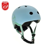 Kask Scoot and Ride (1-5 lat) - steel