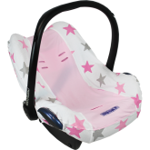 Pokrowiec do fotelika Dooky Seat Cover - Pink Stars 0+