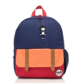Plecak Zip&Zoe Junior - Navy Color Block (5-9lat)