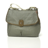 Torba do wózka Babymel Satchel - Stripe Navy