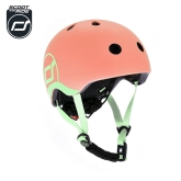 Kask Scoot and Ride (1-5 lat) - peach